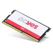 Memória RAM para Notebook DDR4 SODIMM 4GB 2400MHz PM042400D4SO PCYES
