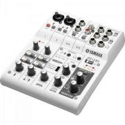 Mesa de Som e Interface de Áudio 6 Canais AG06 Branca YAMAHA