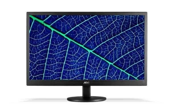 """Monitor 18,5"""" WIDESCREEN 60Hz 1366 x 768 E970SWNL AOC"""