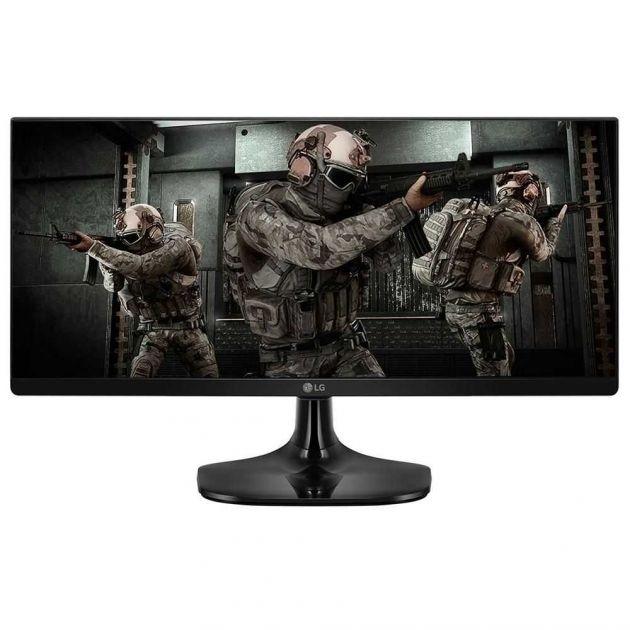 "Monitor 25"" UltraWide Full HD 25UM58G-P 1080P HDMI LG"