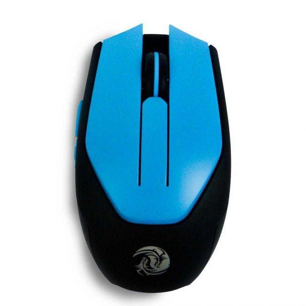Mouse Blaze Preto e Azul 3200 DPI MS311 OEX