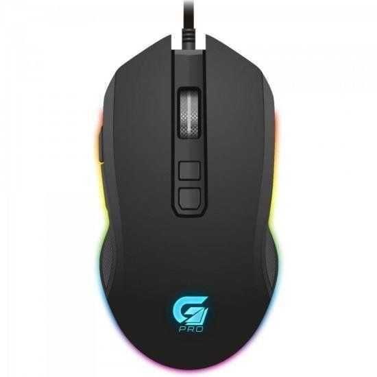 Mouse Gamer PRO M3 RGB Preto FORTREK