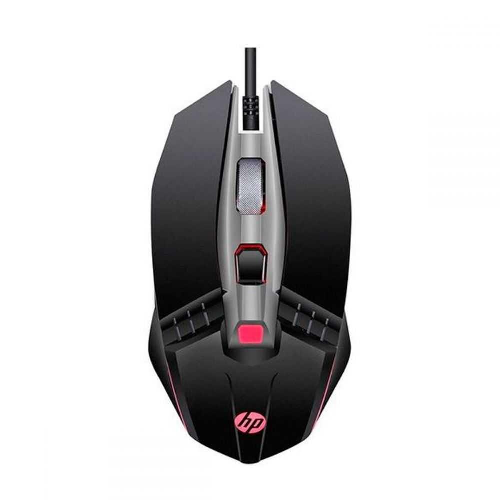 Mouse Gamer Usb M270 2400 DPI Led Preto HP