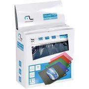 Mouse Pad Caixa Com 40 Unidades (Preto, Azul, Verde, Vermelho e Rosa) AC066 MULTILASER