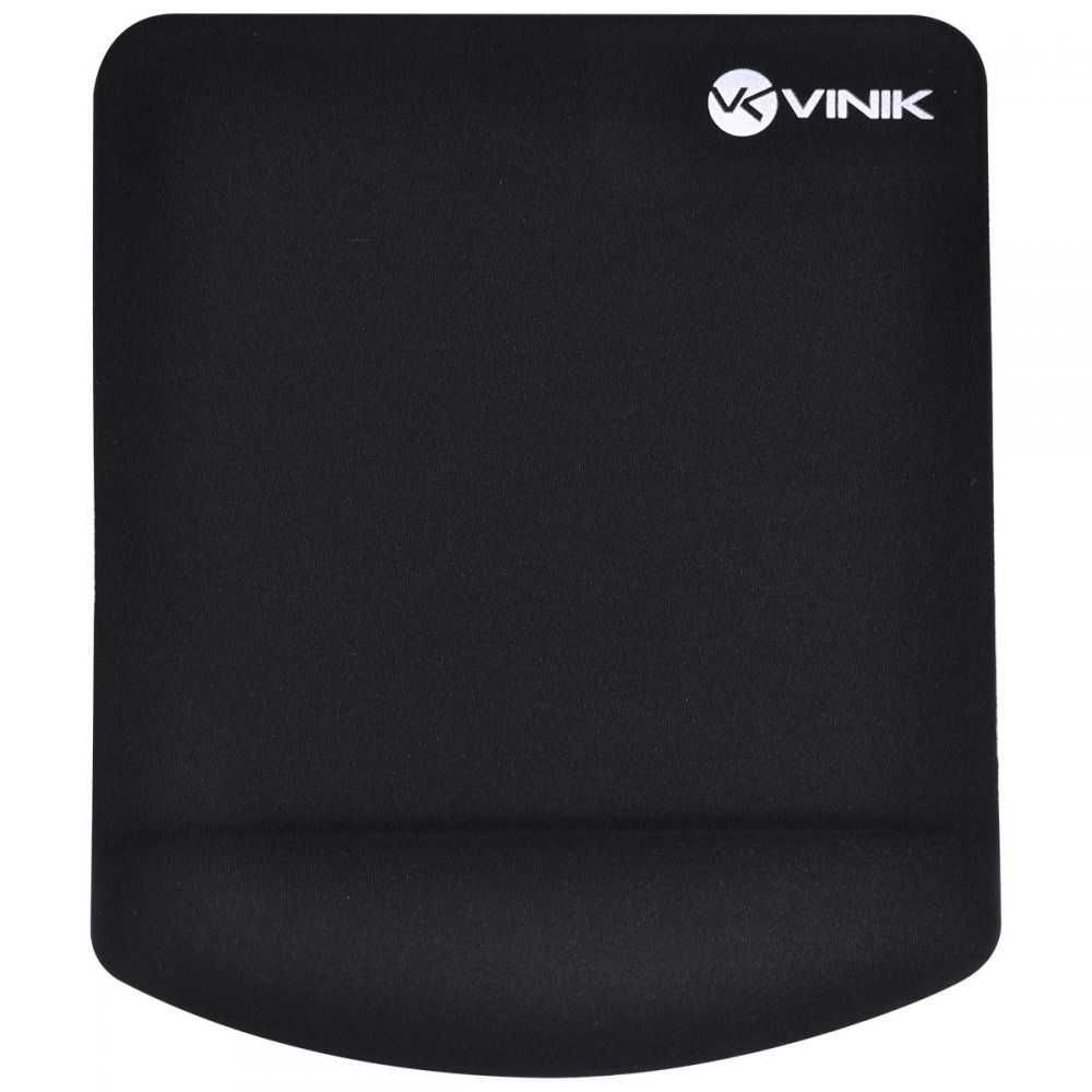 Mouse Pad Com Apoio De Pulso Em Gel MPG-02P Preto (29353)VINIK