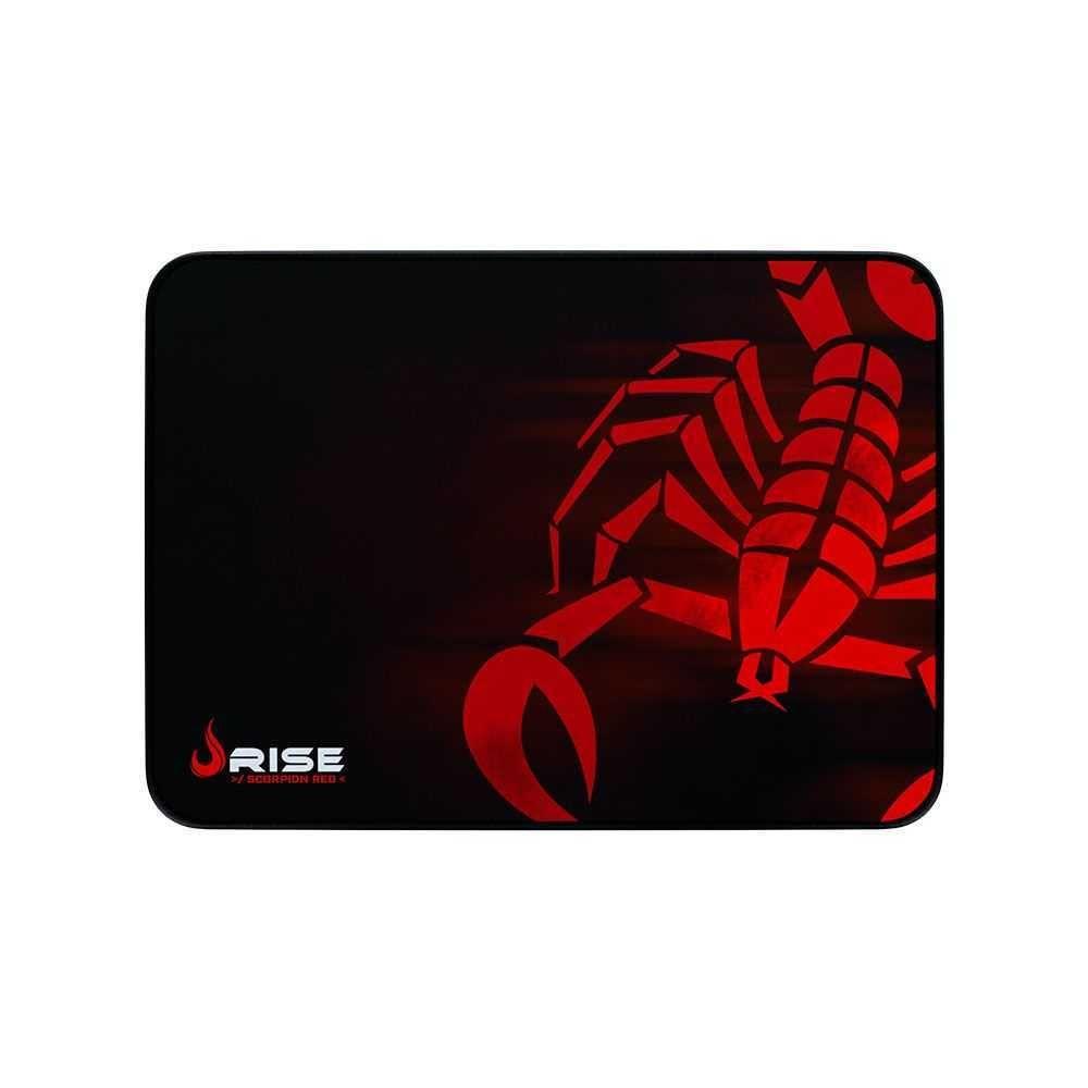 Mouse Pad Scorpion Red Médio Com Costura RG-MP-04-SR RISE MODE