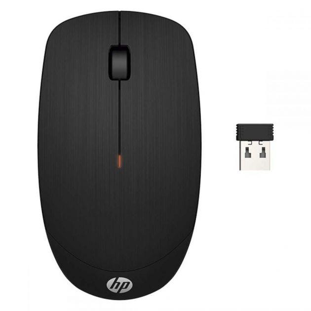 Mouse Sem Fio X200 1600DPI Preto 6VY95AAABM HP