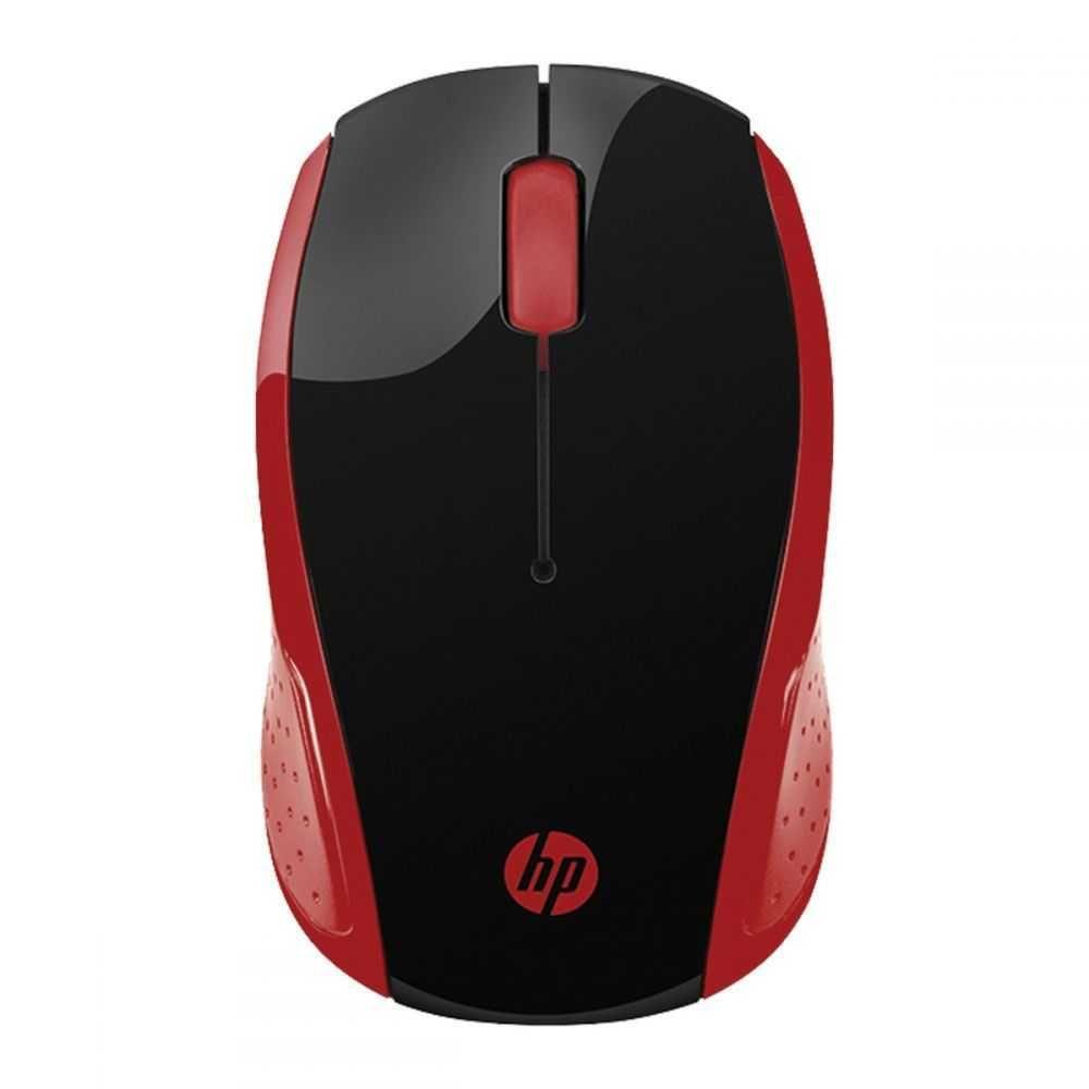 Mouse Sem Fio X200 Oman Vermelho 2HU82AA HP