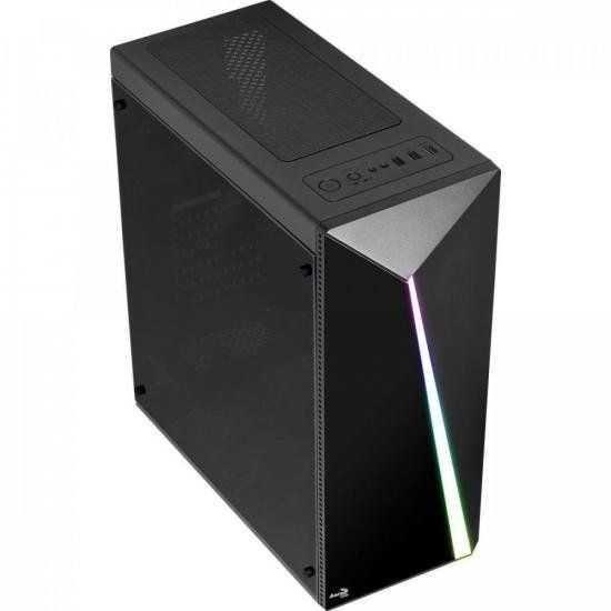 OPEN BOX - Gabinete Gamer Mid Tower RGB Shard ATX AEROCOOL