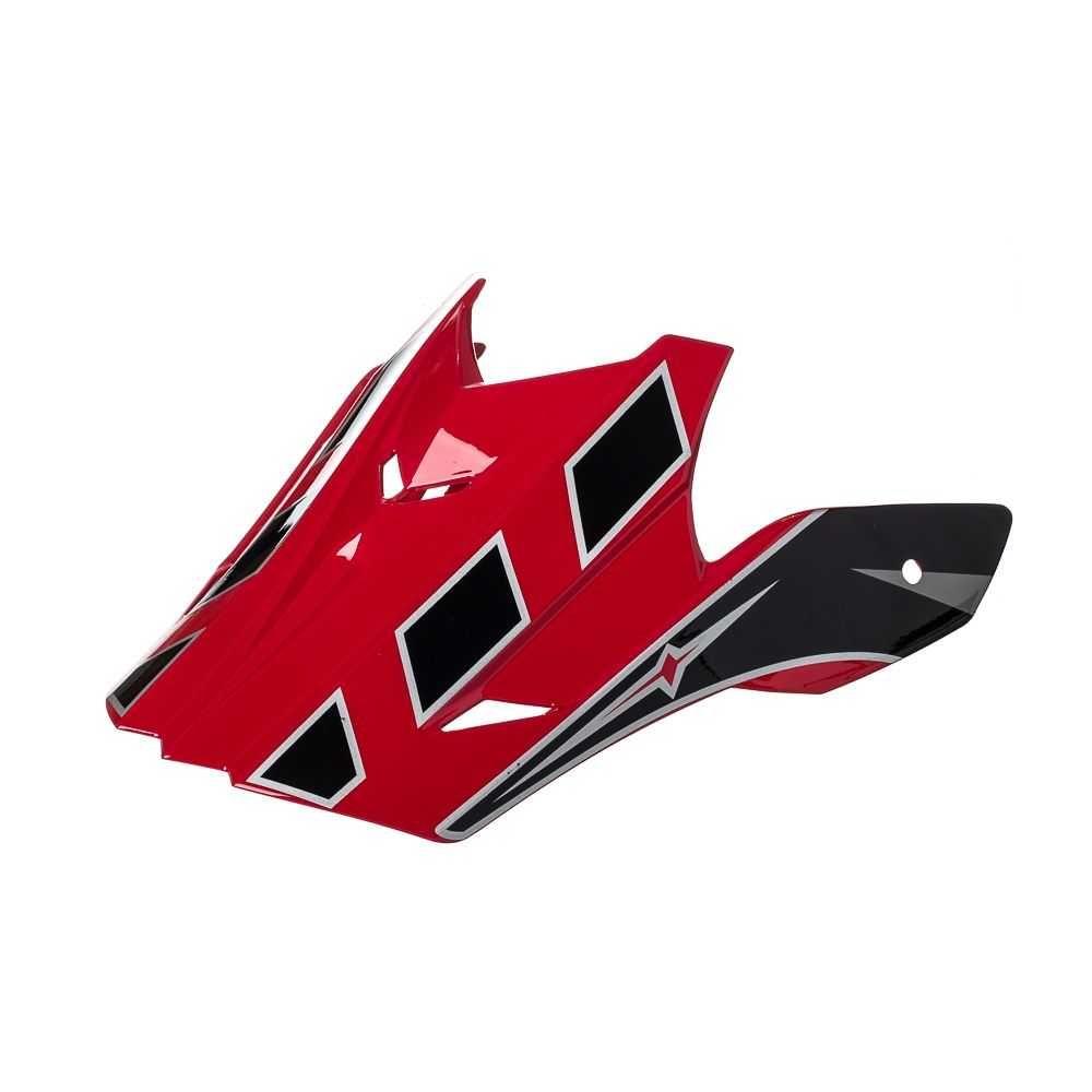 Pala Modelo Speed Mud Preto Com Vermelho Metalico TEXX