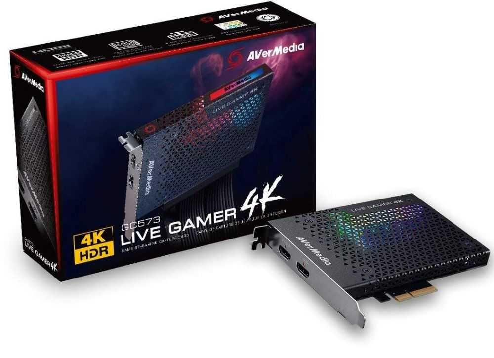 Placa de Captura GC573 4K AVERMEDIA
