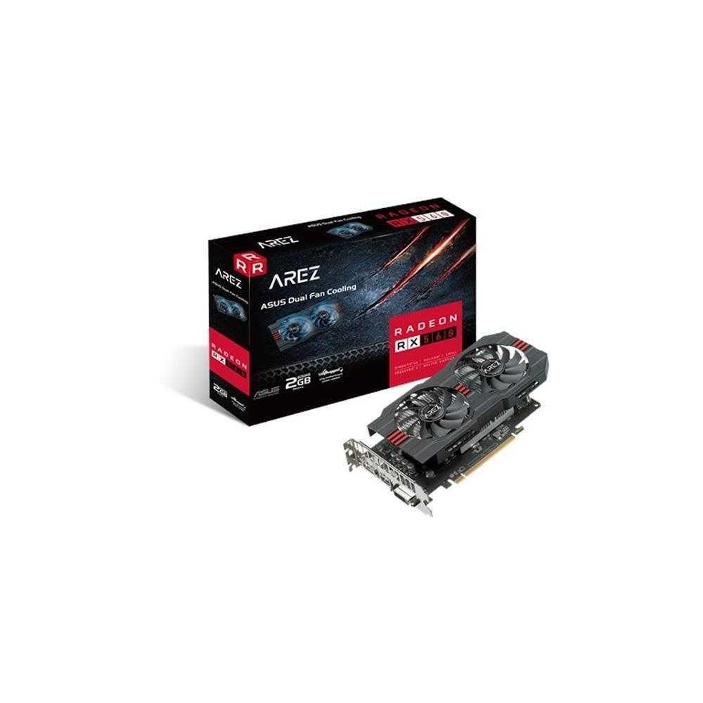 Placa de Vídeo AMD Radeon RX 560 2GB GDDR5 PCIe 3.0 AREZ-PH-RX560-2G-EVO ASUS