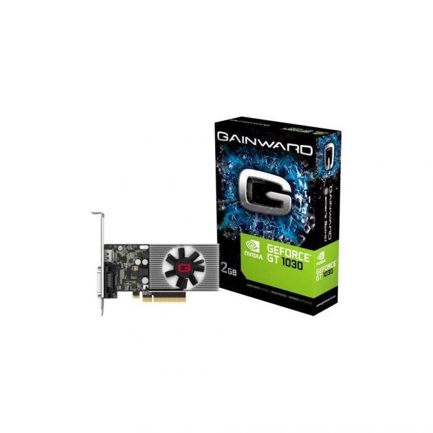 Placa de Vídeo Nvidia GeForce GT 1030 2GB DDR4 PCI-E 3.0 x4 NEC103000646-1082F GAINWARD