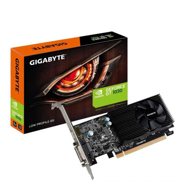 Placa de Vídeo NVIDIA GeForce GT 1030 2GB GDDR5 GV-N1030D5-2GL GIGABYTE