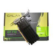 Placa de Vídeo NVIDIA GeForce GT 710 1GB DDR3 PCI-E 2.0 71GGF4DC00WG GALAX