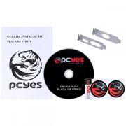 Placa de Vídeo NVIDIA Geforce GT 710 Low Profile 2GB PCYES