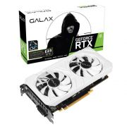 Placa de Vídeo NVIDIA GeForce RTX 2060 EX WHITE 6GB GALAX
