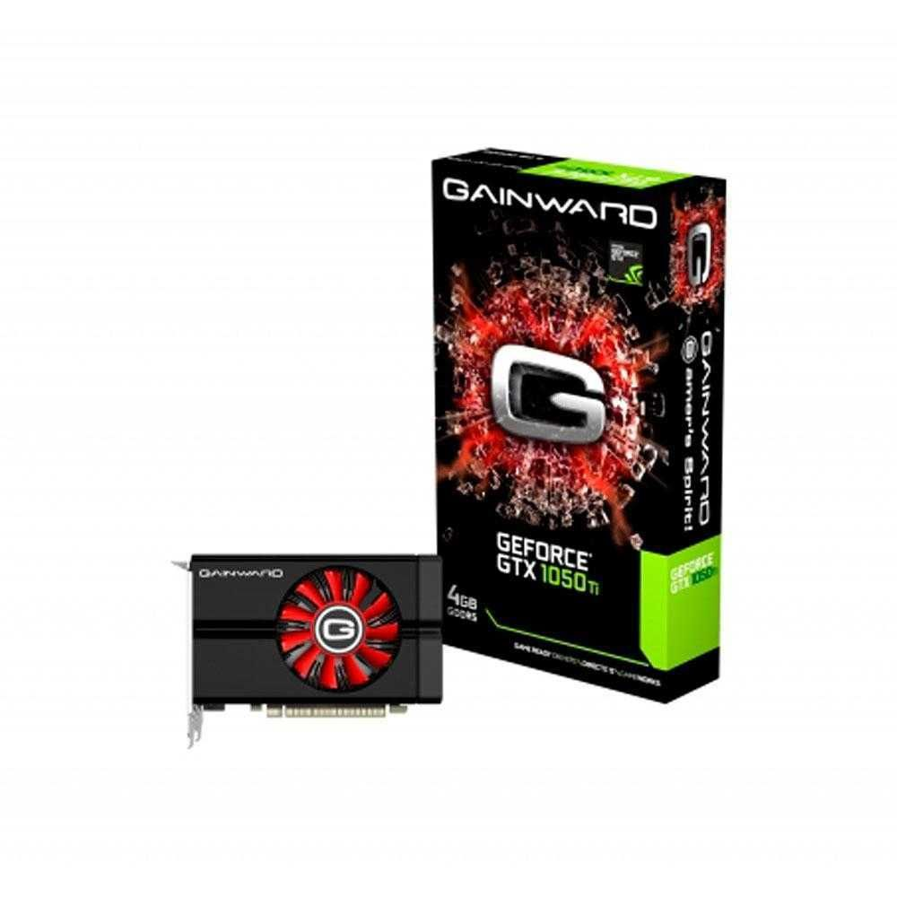 Placa de Vídeo NVIDIA GeForce GTX 1050 Ti 4GB GDDR5 PCIe 3.0 NE5105T018G1-1070F GAINWARD
