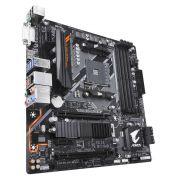 Placa Mãe B450 AORUS M AMD AM4 mATX DDR4 GIGABYTE