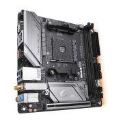Placa Mãe B450 I AORUS PRO WIFI AMD AM4 Mini-ITX DDR4 GIGABYTE