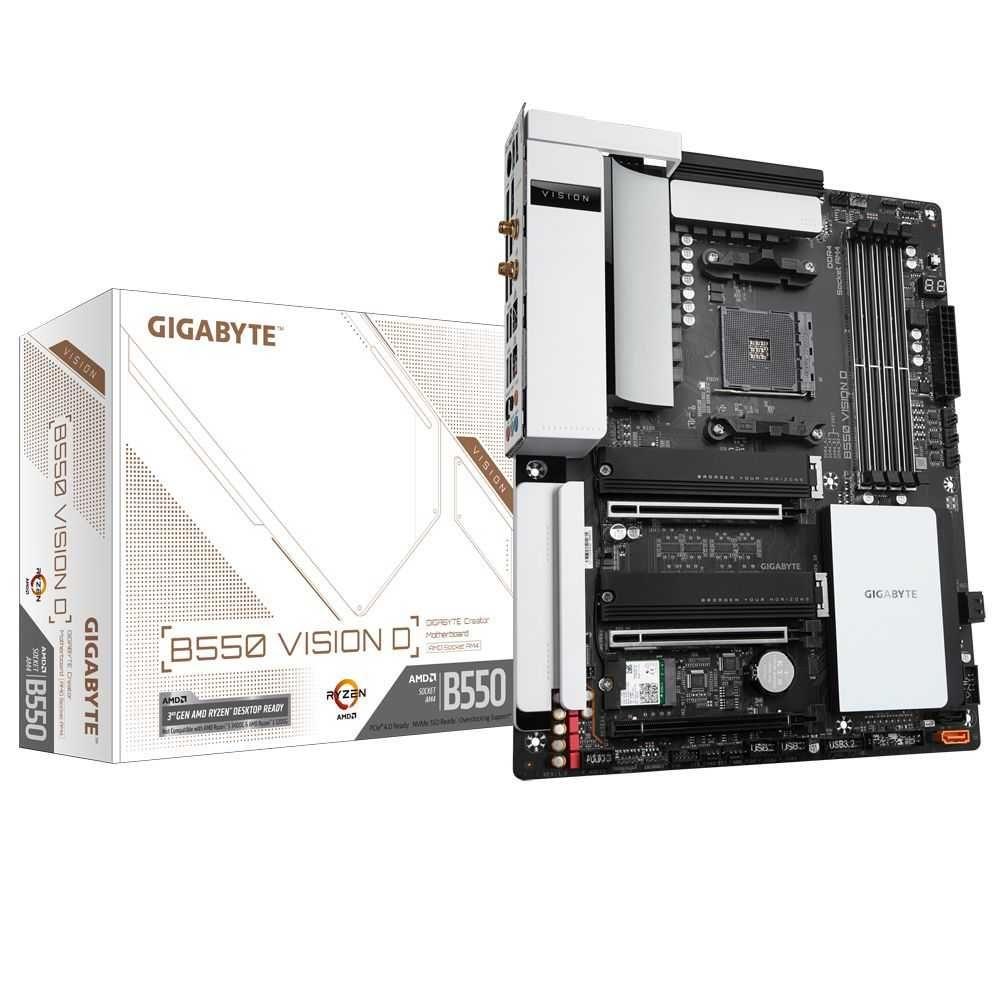 PLACA MÃE B550 VISION D AMD AM4 ATX DDR4 GIGABYTE