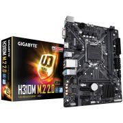 Placa Mãe GIGABYTE H310M M.2 2.0 DDR4 Intel LGA1151 8°/9° Geração M-ATX GIGABYTE