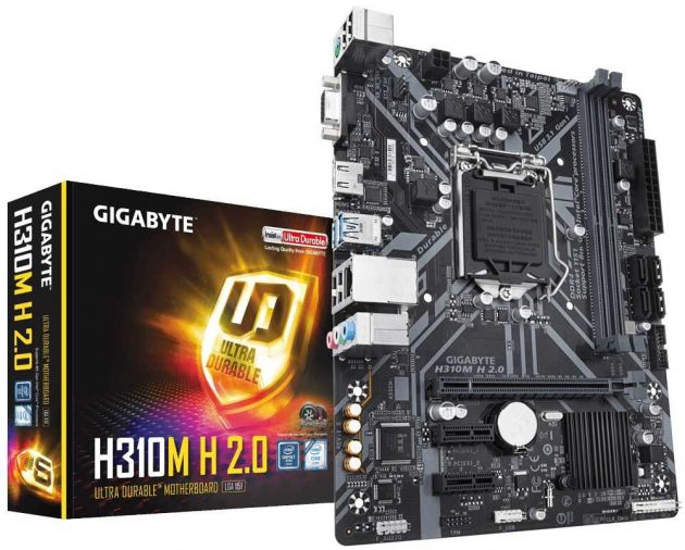 Placa Mãe H310M H 2.0 INTEL LGA 1151 mATX DDR4 GIGABYTE