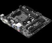 Placa Mãe Micro ATX FM2A68M-HD+R2.0 DDR3 Dual Channel VGA/HDMI US ASROCK