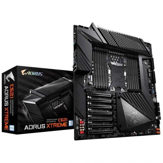 Placa Mãe para Servidor C621 AORUS XTREME DDR4 Intel LGA3647 GIGABYTE