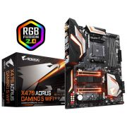 Placa Mãe X470 AORUS GAMING 5 WIFI AMD AM4 ATX DDR4 GIGABYTE