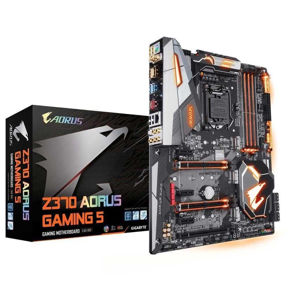 Placa Mãe Z370 AORUS GAMING 5 Intel LGA1151 ATX DDR4 Gigabyte