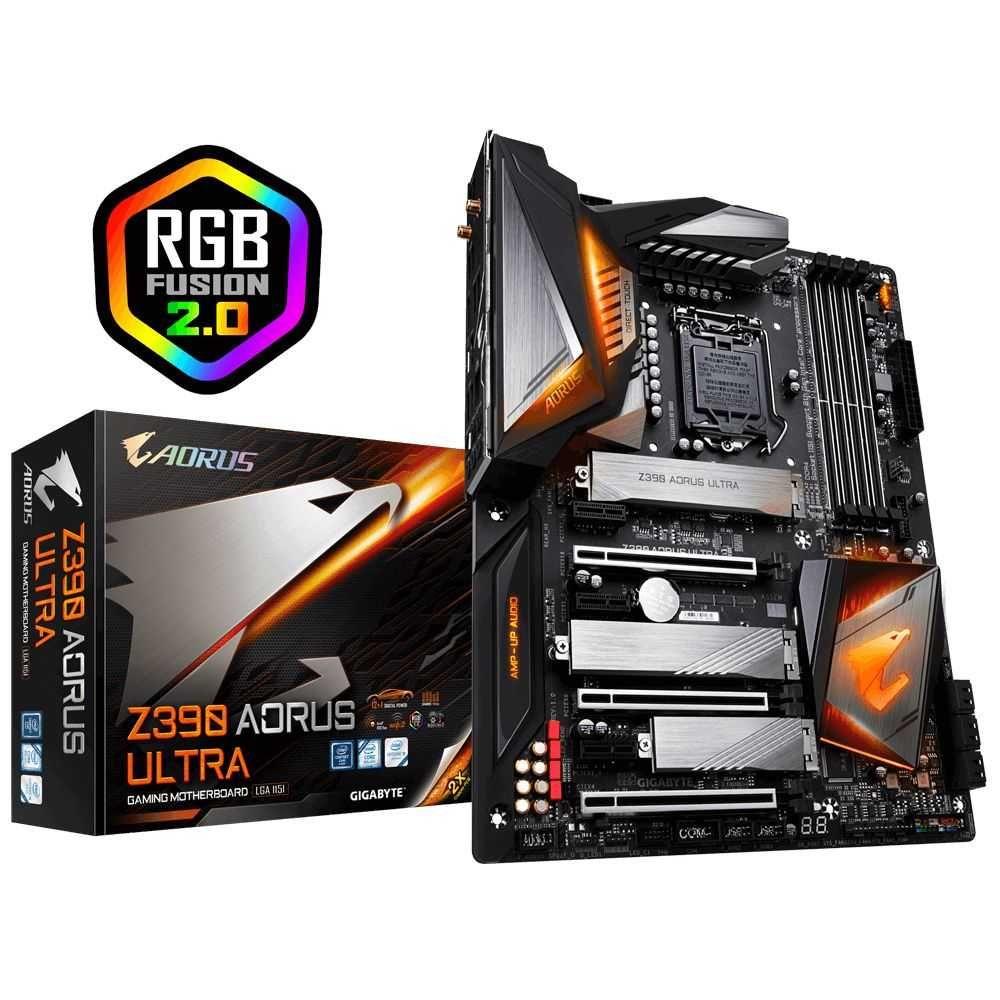 Placa Mãe Z390 AORUS ULTRA INTEL LGA 1151 ATX DDR4 GIGABYTE