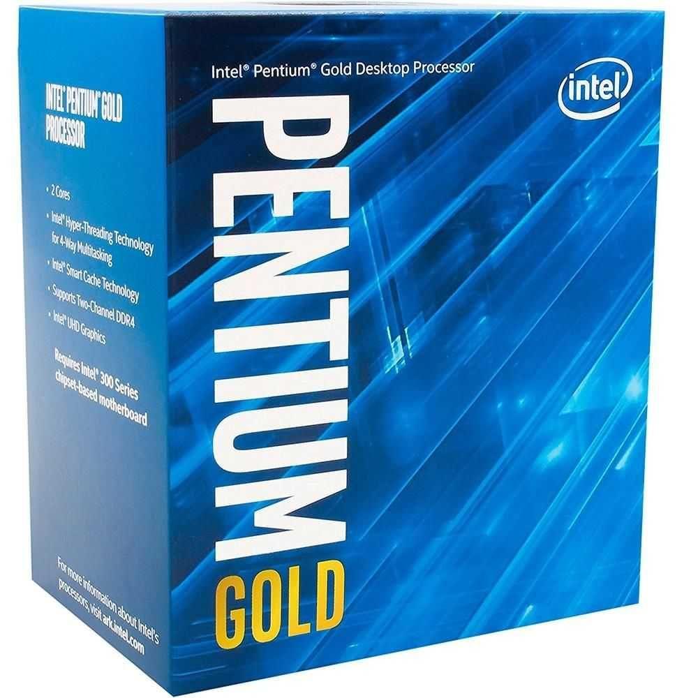 Processador Pentium Gold G5400 3.7GHz BX80684G5400 INTEL