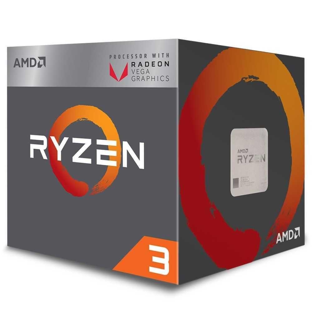 Processador Ryzen 3 2200G 3.5GHz (3.70GHzFrequência Máxima) AM4 YD2200C5FBBOX AMD