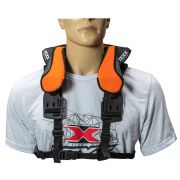 Protetor De Pescoço Neck-Brace Laranja TEXX