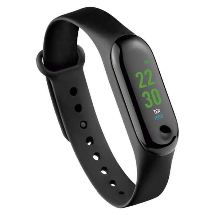 Relógio SMART BAND TÓQUIO Android/IOS Preto ES264 ATRIO
