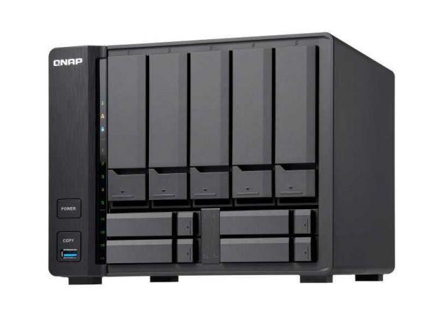 Servidor de Dados TS-932X 2GB CORTEX QUAD-CORE S/ Disco QNAP
