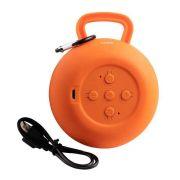 Caixa de Som Speaker Pouch Laranja SK408 OEX