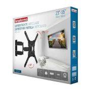 """SUPORTE ARTICULADO 4 MOVIMENTOS PARA TV LED, LCD, PLASMA, 3D E SMART TV DE 23 A 55"""""""" SBRP 443"""