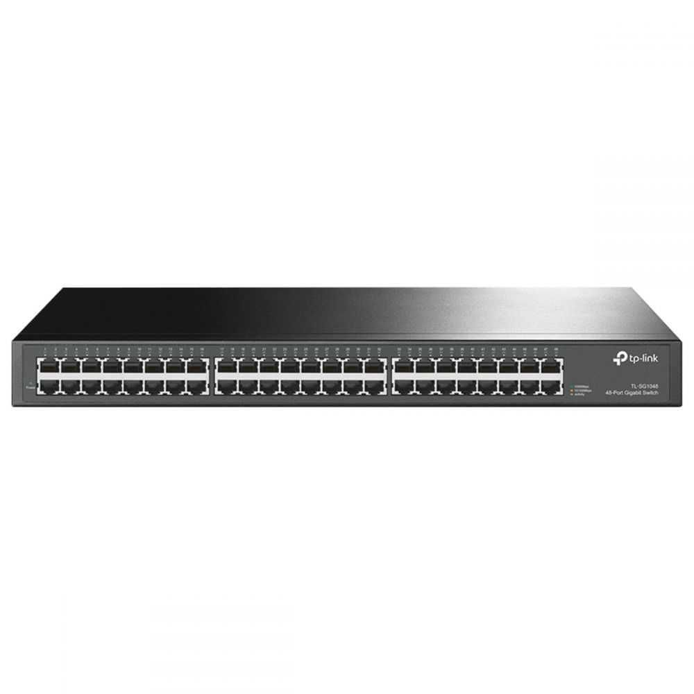 Switch Montável Em Rack Gigabit De 48 Portas 10/100/1000 TL-SG1048 SMB TP-LINK