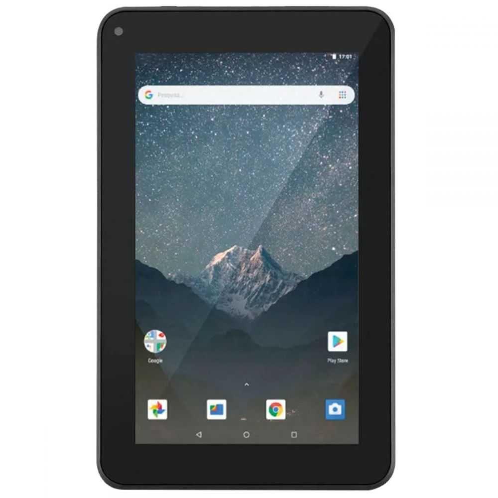 "Tablet M7S Go 7"" Quad Core Preto (Com Wi-Fi, 16Gb e Android 8.1) NB316 MULTILASER"