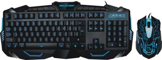 Teclado + Mouse Gamer Usb TC195 MULTILASER