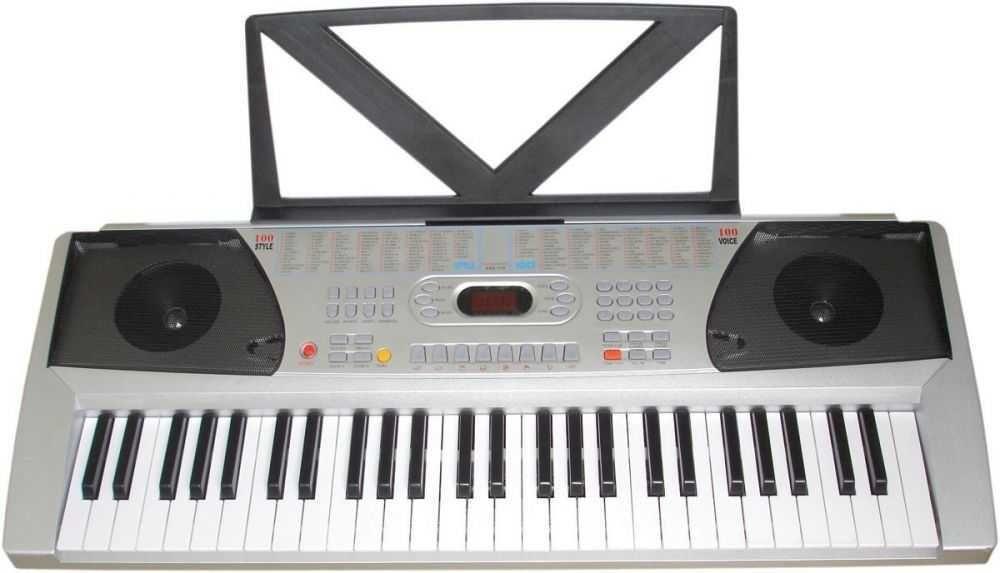 Teclado Musical 558 Bivolt (Memória Para Gravação em Tempo Real, 100 Sons) CSR
