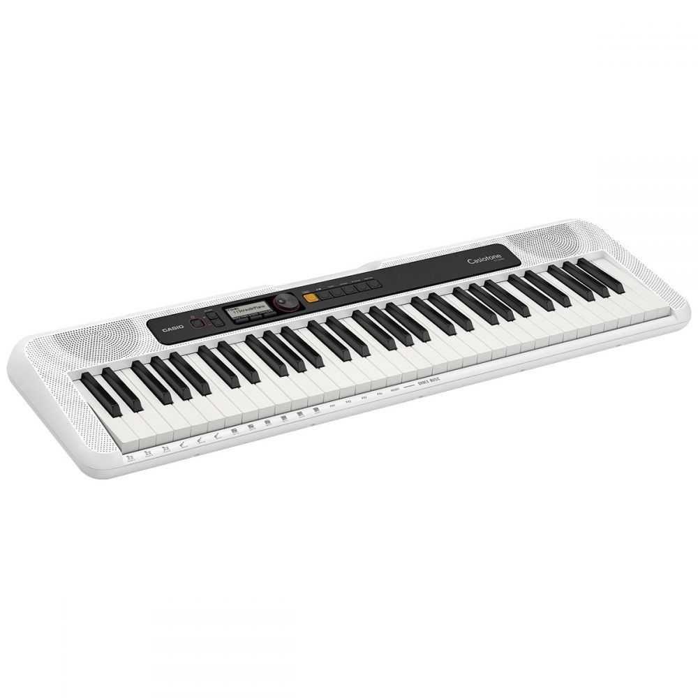 Teclado Musical Casiotone Básico Digital Branco CT-S200WEC2-BR CASIO