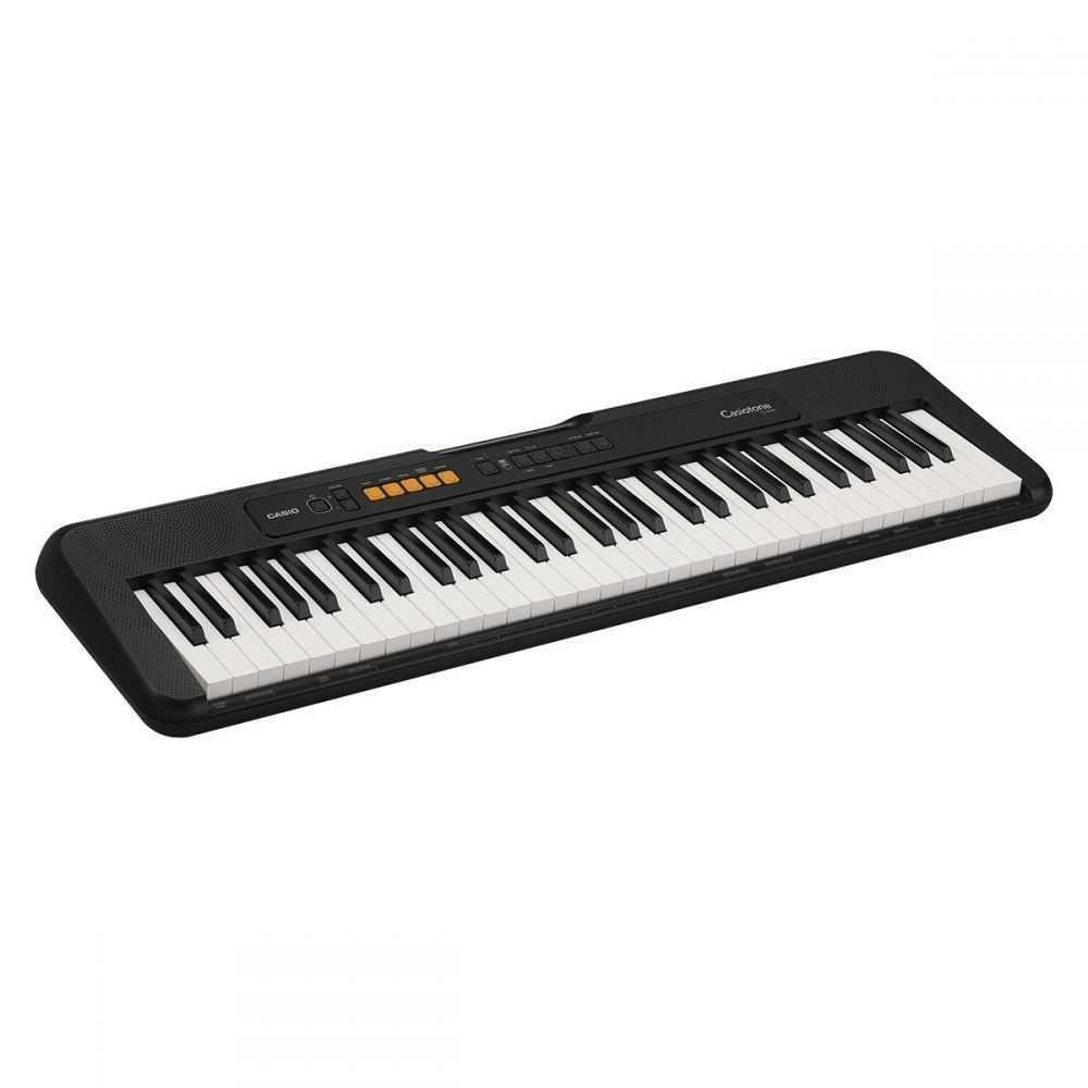Teclado Musical Digital Casiotone Básico CT-S100C2-BR Preto CASIO
