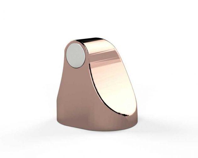 Trava Porta Magnético Rosé Gold Comfort Door