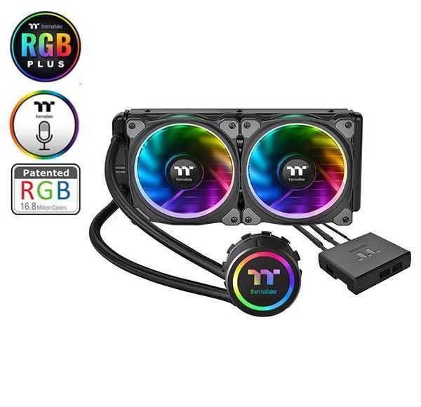 Water Cooler Floe Riing RGB 240 TT Premium Edition CL-W157-PL12SW-A THERMALTAKE