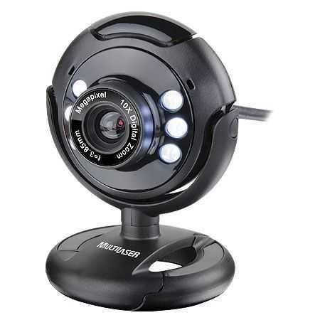 Webcam Night Vision 16mp (Interpolado) WC045 MULTILASER